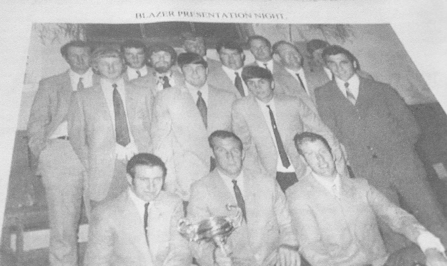 1970 Delegate Clayton Cup Blazer presentation