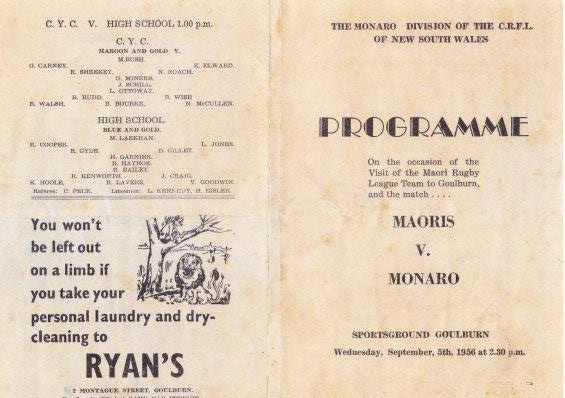 monaro v maories 1956