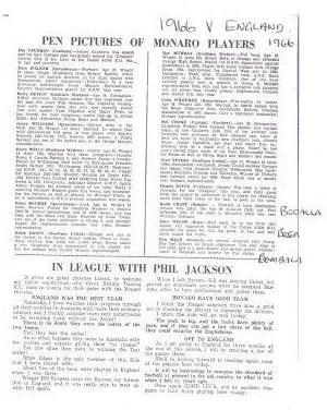 england v monaro 1966
