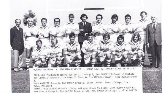 monaro rep team 1973