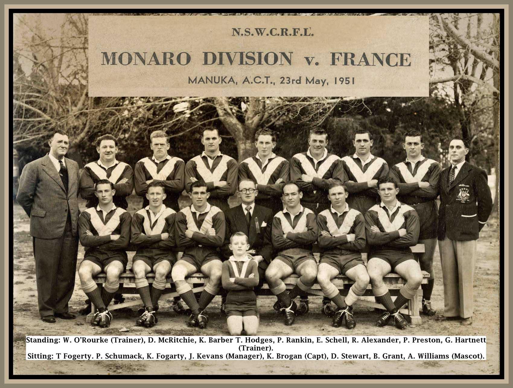 1951 - Monaro v France